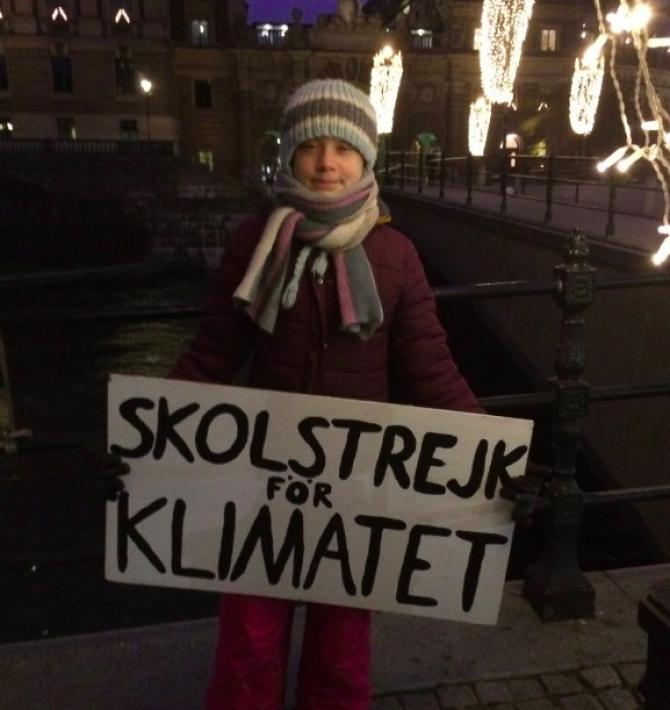 Foto: Twitter Greta Thunberg