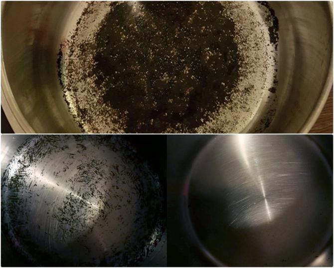 Așa cureți tigăile de grăsime și negreală cu bicarbonatul de sodiu