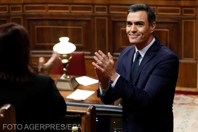 Pedro Sánchez / Foto: Agerpres