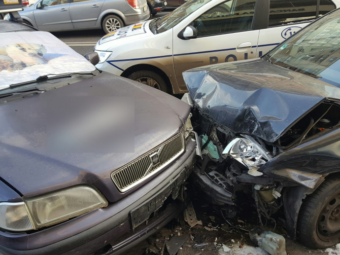 Accident. FOTO: ISU Cluj