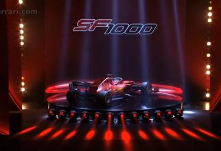 Noul monopost Ferrari - Prezentare într-o ceremonie fastuoasă. foto: captură video ferrari.com