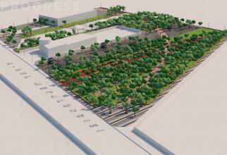 30.000 de metri patrați  transformați în parc