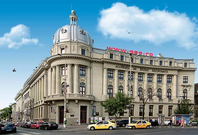 Academia de Studii Economice din Bucureșt. Foto Facebook.