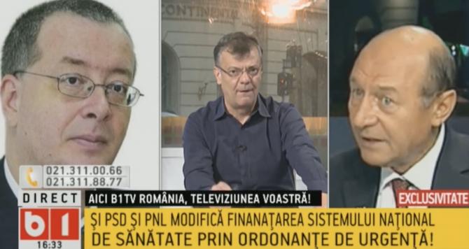Chirieac și Băsescu