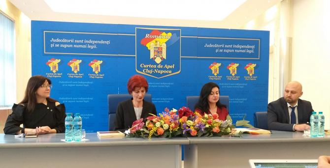 Conferință de presă Curtea de Apel Cluj