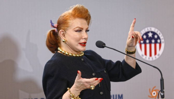 Georgette Mosbacher, ambasadoarea SUA în Polonia