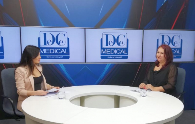 Dr Mirela Nicolae, la Interviurile DC News. Foto: DC Medical