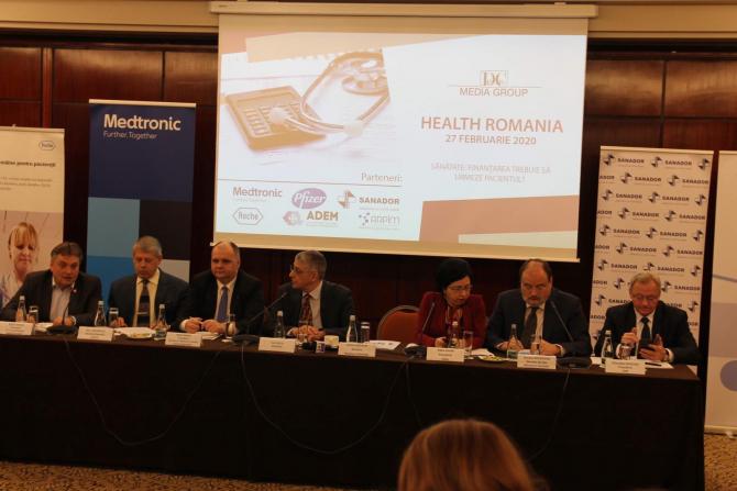 HEALTH ROMANIA – Ediția a III-a: FINANȚAREA SISTEMULUI DE SĂNĂTATE. FINANȚAREA TREBUIE SĂ URMEZE PACIENTUL?