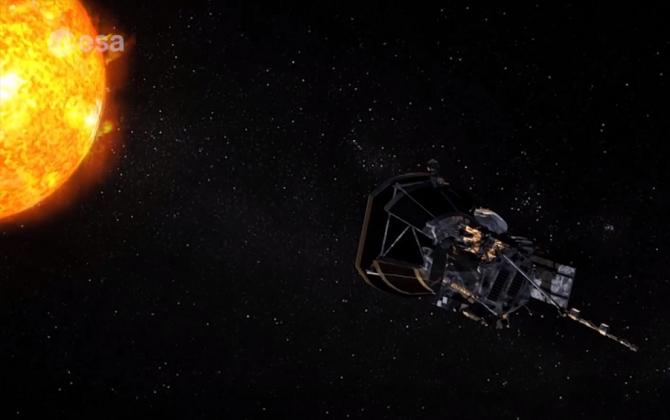 Sonda Solar, captura video space.com