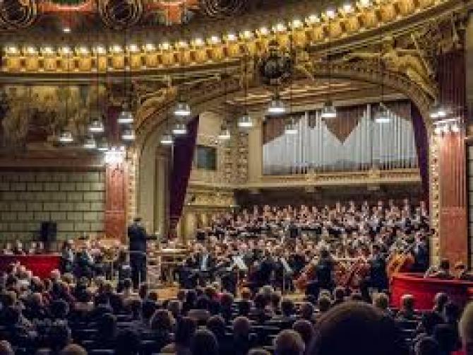 """Prima înregistrare online va fi cea din 30 noiembrie 2018, din seria """"Concertele Centenarului de la Ateneul Român"""""""