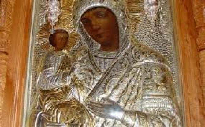 Icoana Maicii Domnului din Biserica Madona Dudu din Craiova