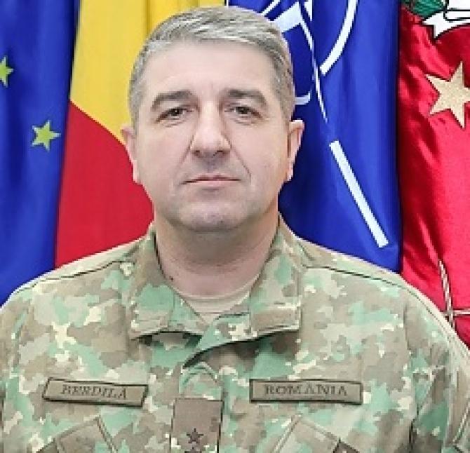 Iulian Berdilă, noul șef al Statului Major al Forțelor Yerestre
