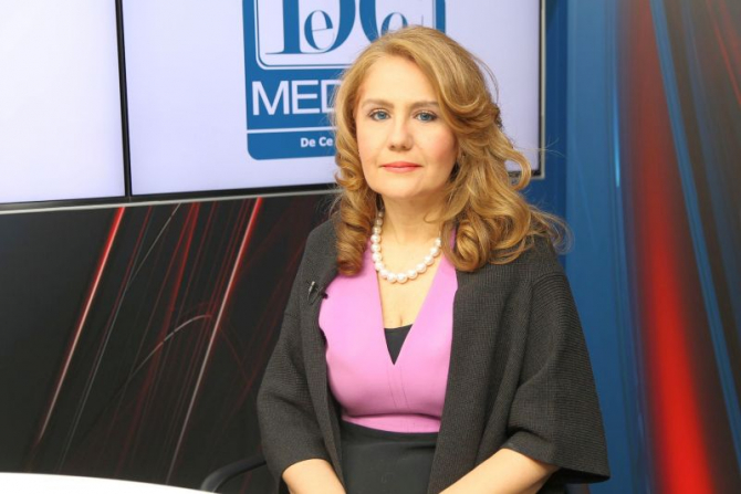 Prof dr Olga Simionescu. Foto: DC News