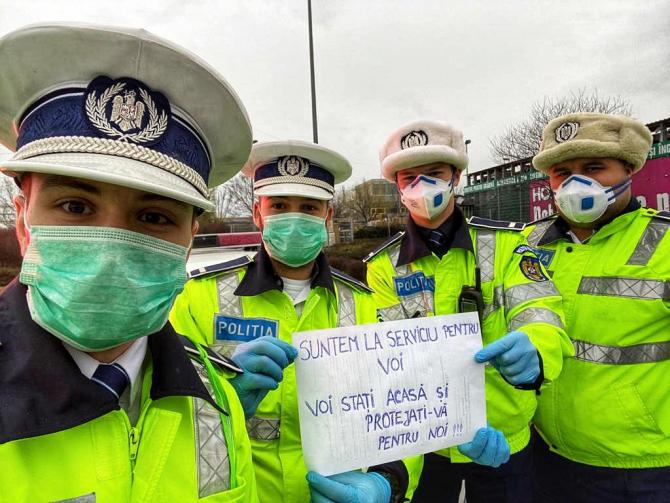 Campanie Poliția Română