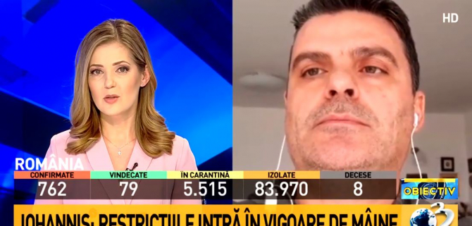 Radu Tudor, Antena 3