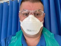Ioan Cătălin Frandes, asistent român în Anglia / Sursa foto: Facebook
