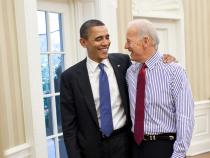Barack Obama, alături de fostul său vicepreședinte Joe Biden