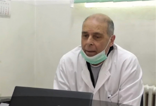 """Medicul Virgil Musta, şef de secţie la Spitalul de Boli Infecţioase """"Victor Babeş"""" din Timişoara"""
