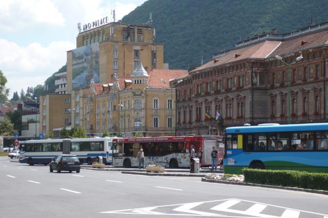Autobuze în Brașov. Foto: RATBV / Facebook