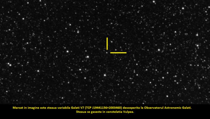 Foto: (c) Planetariul şi Observatorul astronomic Galaţi / Facebook