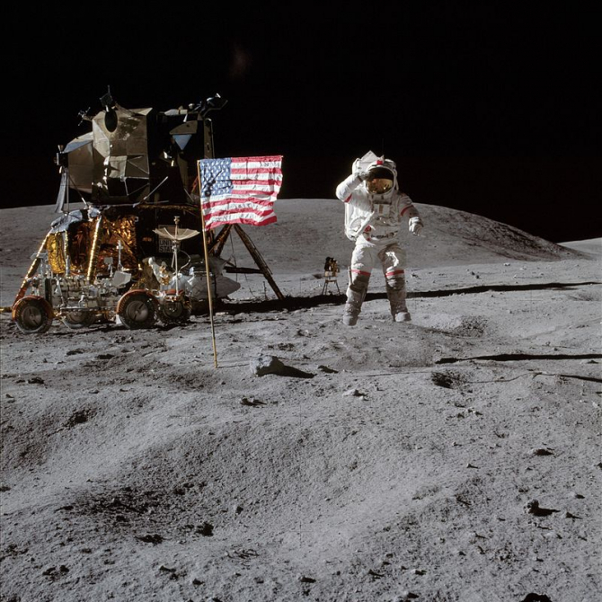 Apollo 16 a fost a zecea misiune umană din programul Apollo
