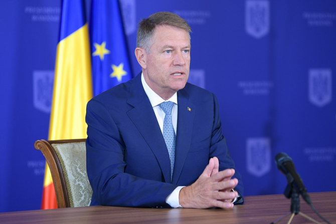 Președintele Klaus Iohannis, declarații de presă