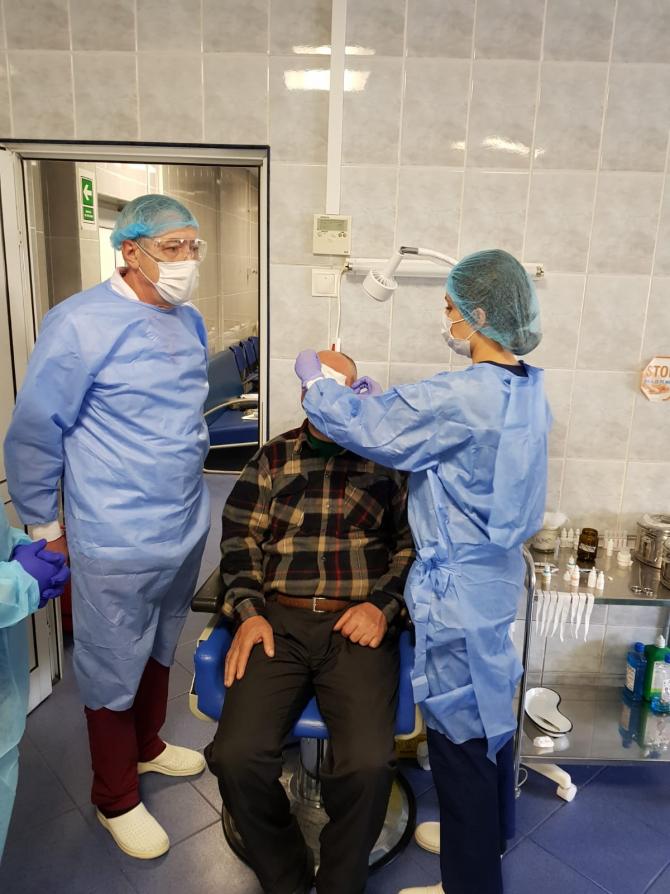 Spitalul de Urgențe Oftalmologice din București are stocuri de materiale de protecție