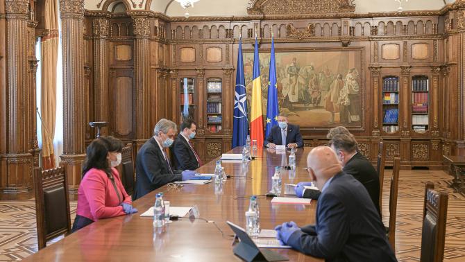Klaus Iohannis, ședință Cotroceni