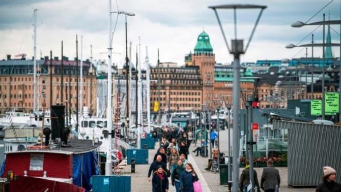 Suedia  a păstrat deschise restaurantele