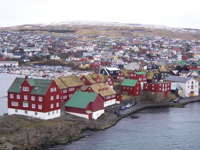 Tórshavn, capitala Insulelor Feroe