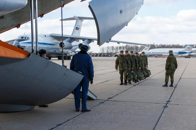 Ajutor umanitar Rusia, sursă foto: Ministerul Apărării din Rusia