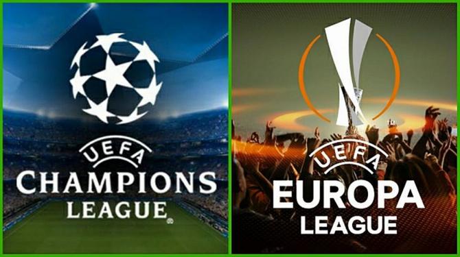 UEFA, decizie referitoare la  Liga Campionilor şi Liga Europa