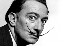 Celebra mustaţă a lui Dalí s-a conservat perfect