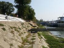 Debtul Dunări, extrem de scăzut