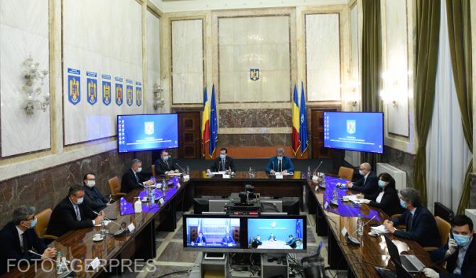 Sedința Comitetului Național pentru Situații de Urgență