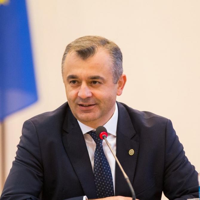 Ion Chicu, premierul Republicii Moldova, Facebook