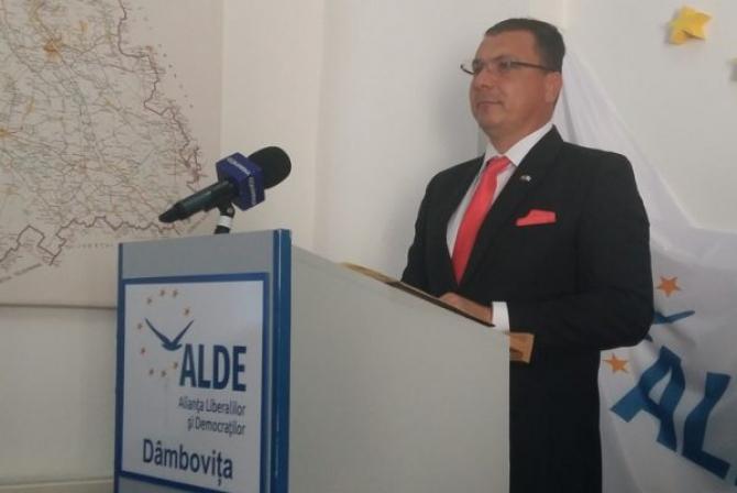 Ionel Petre, președintele ALDE Dâmbovița