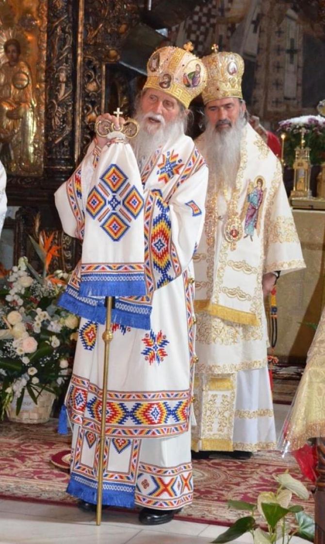 IPS Pimen, alături de IPS Teodosie  Foto Facebook: Arhiepiscopia Tomisului