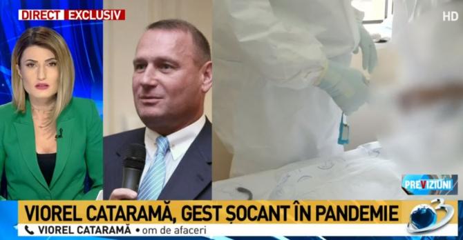 Viorel Cataramă, captură Antena 3