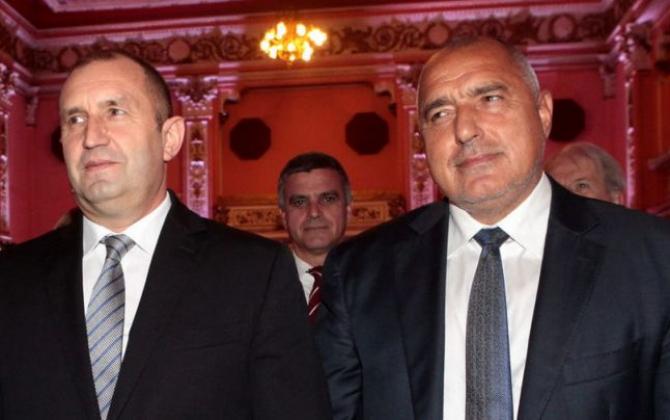 Scandal fără precedent între premierul Boiko Borisov și președintele Rumen Radev