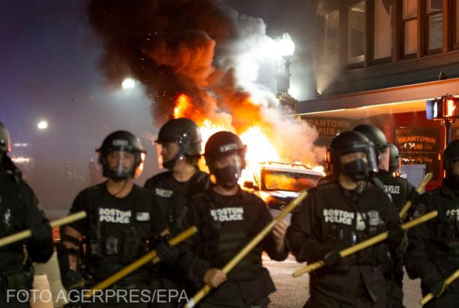 Proteste SUA - imagine cu rol ilustrativ  Sursa foto: Agerpres