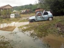 Inundații. FOTO: ISU Maramureș