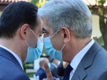 Premierul Ludovic Orban și fostul mministru Eugen Nicolăescu