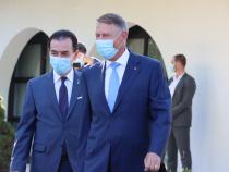 Președintele Klaus Iohannis și premierul Ludovic Orban