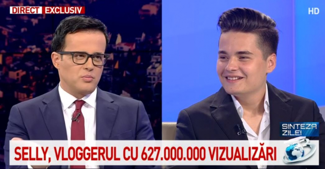 Mihai Gâdea și Selly
