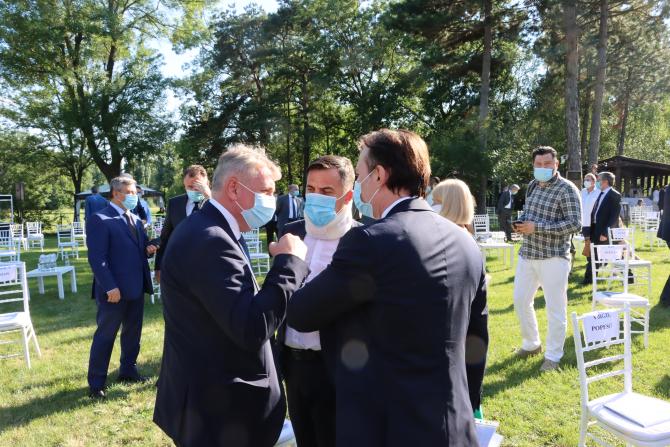 Trei miniștri de forță ai Guvernului Orban: Florin Cîțu, ministrul de Finanțe, Lucian Bode, ministrul Transporturilor și Ion Ștefan, ministrul dezvoltării