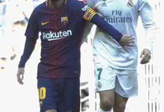 Foto: Agerpres. Messi și Ronaldo, în 2017