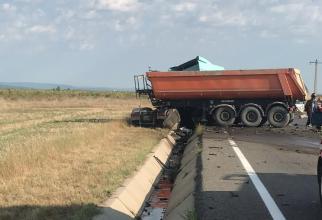 Accident. Foto: IPJ Vrancea
