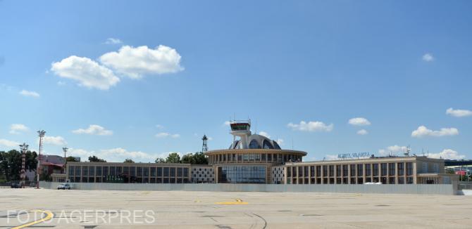 Foto: Aeroportul Băneasa. Sursa: Agerpres