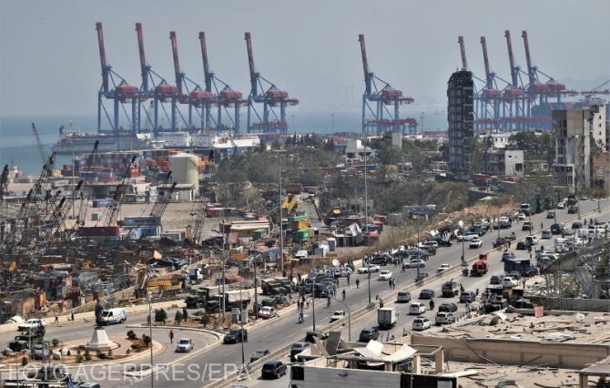 Cum a ajuns nitratul de amoniu în Beirut